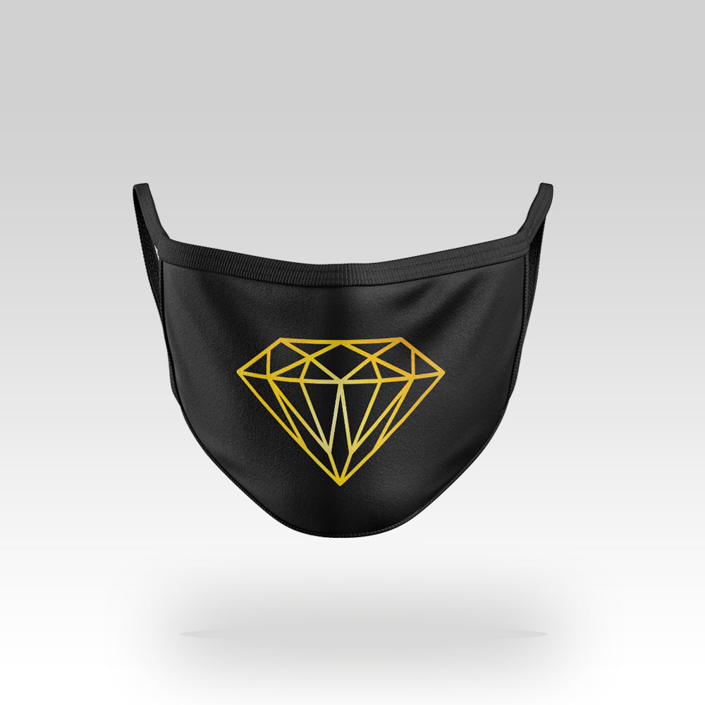 Gold Diamond - Face Mask