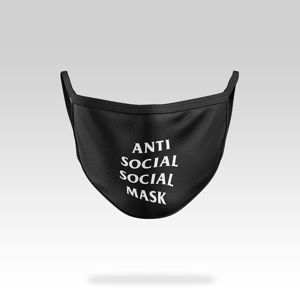 Anti Social - Face Mask