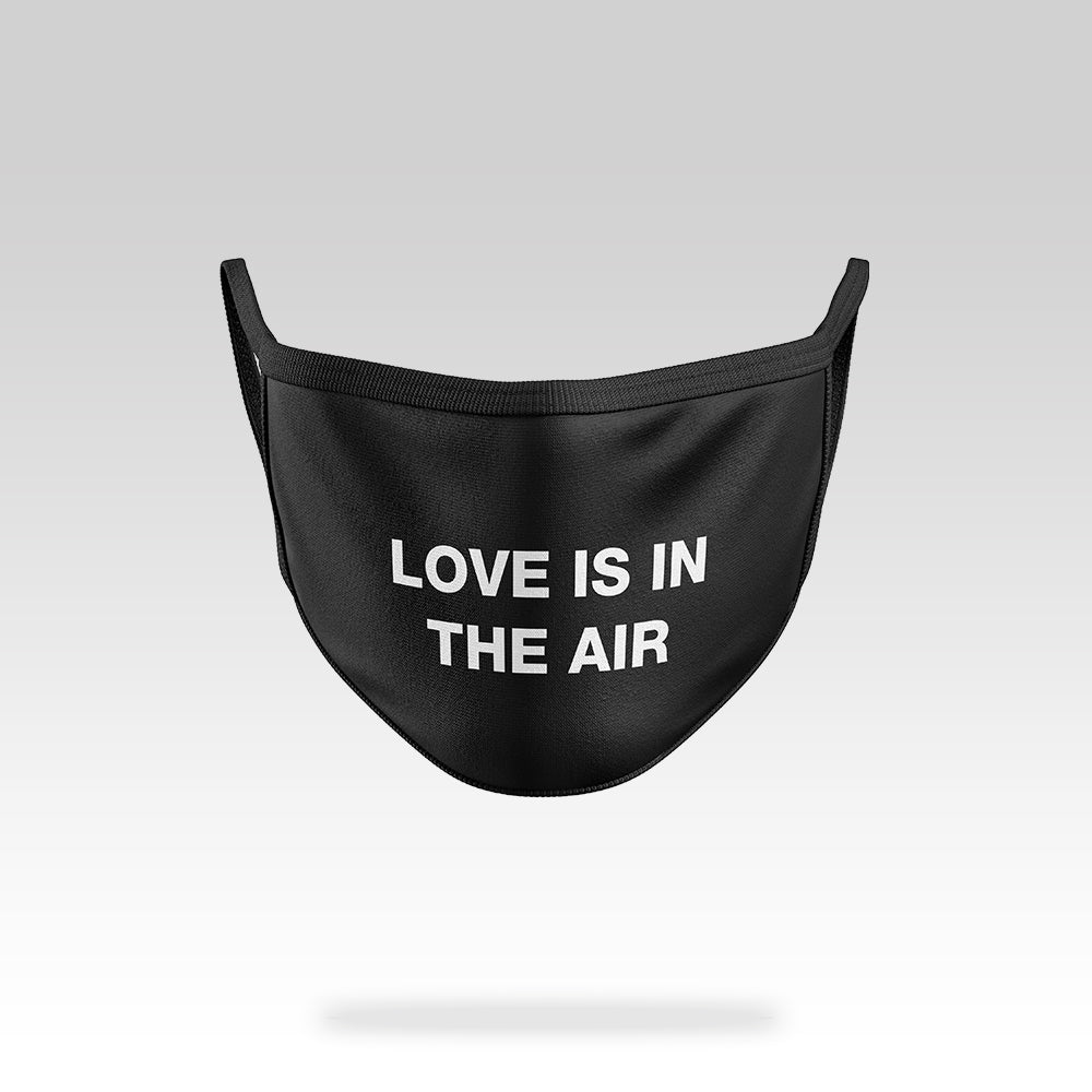 Love Is In The Air - Face Mask