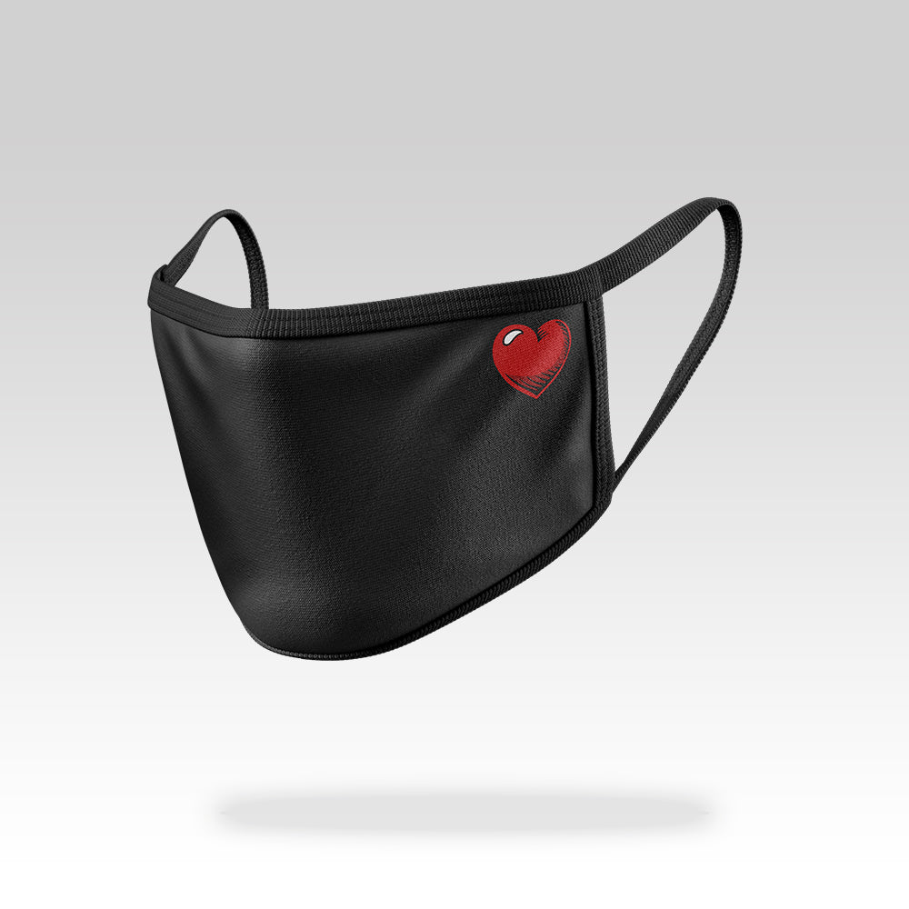 Small Heart - Face Mask