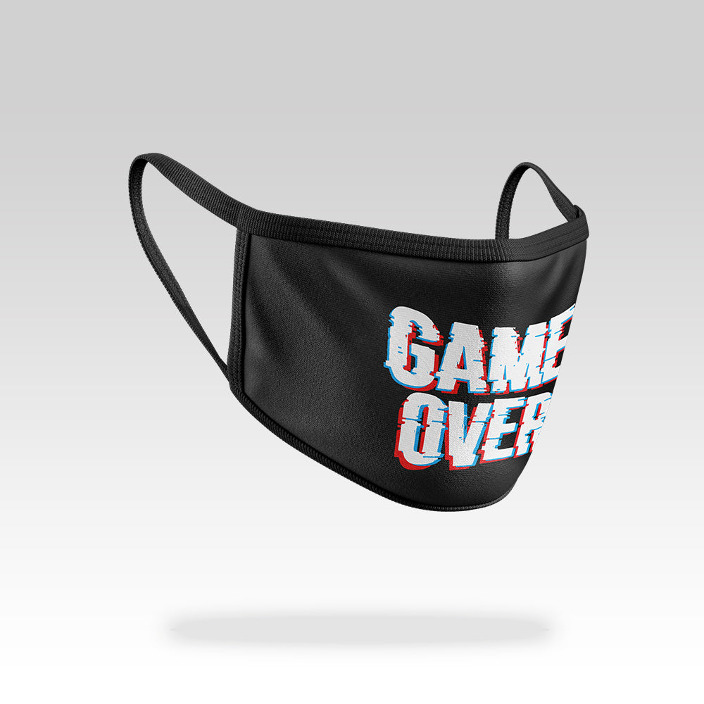 Game Over - Face Mask