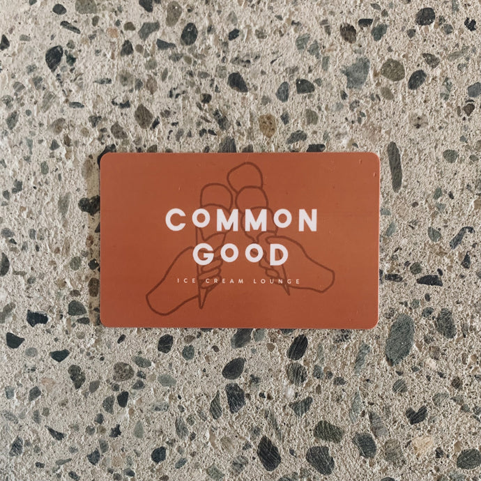 Common Good Online Gift Card