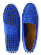 Load image into Gallery viewer, Moccasin Margherita Cobalt