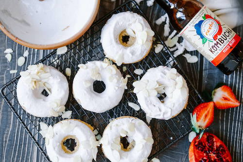 Perfect Baked Vegan Doughnuts