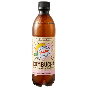 Nexba Naturally Sugar Free Rose Lemonade Kombucha 450ml (12 Pack): £ Inc. VAT
