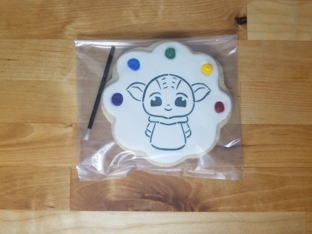 Cartoon Paint & Eat Cookie