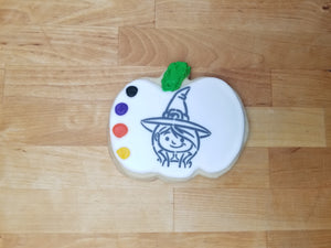 Witch Paint & Eat Cookie