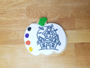 Haunted House Paint & Eat Cookie