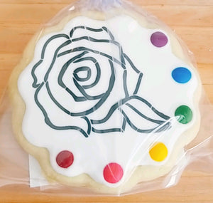 Rose Paint & eat cookie