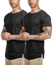 Load image into Gallery viewer, Mens Longline Tshirts