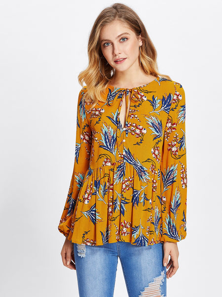 Bright Side Boho Top | ONE LEFT