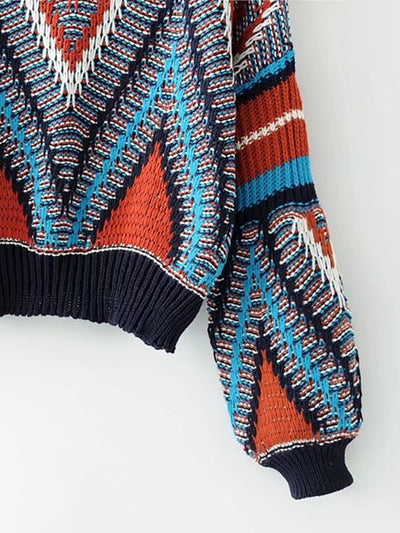 Fire Fly Textured Crop Knit - Boho Buys