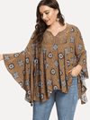 PLUS SIZE Parker Cotton Top | ONE LEFT - Boho Buys