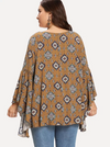 PLUS SIZE Parker Cotton Top - Boho Buys