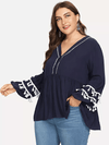 PLUS SIZE Eva Top - Boho Buys