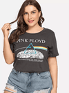 PLUS SIZE Vintage Band Tee - Boho Buys