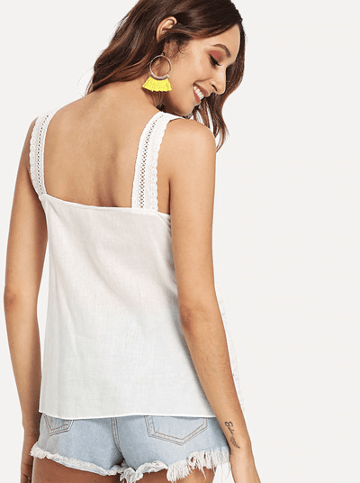 Dylan Cotton Top - Boho Buys