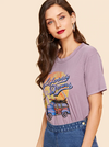 California Dreams Tee | LILAC - Boho Buys
