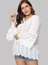 PLUS SIZE Soiree Top - Boho Buys