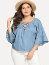 PLUS SIZE Chloe Top - Boho Buys