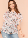 PLUS SIZE Danielle Top - Boho Buys