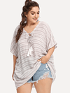 PLUS SIZE Clovelly Top - Boho Buys
