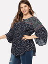 PLUS SIZE Reynold Top - Boho Buys