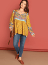 PLUS SIZE Bobbi Top | ONE LEFT - Boho Buys