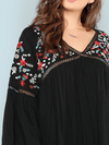 PLUS SIZE Nia Top - Boho Buys