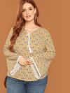 PLUS SIZE Kristen Top - Boho Buys