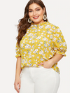 PLUS SIZE Daria Top - Boho Buys