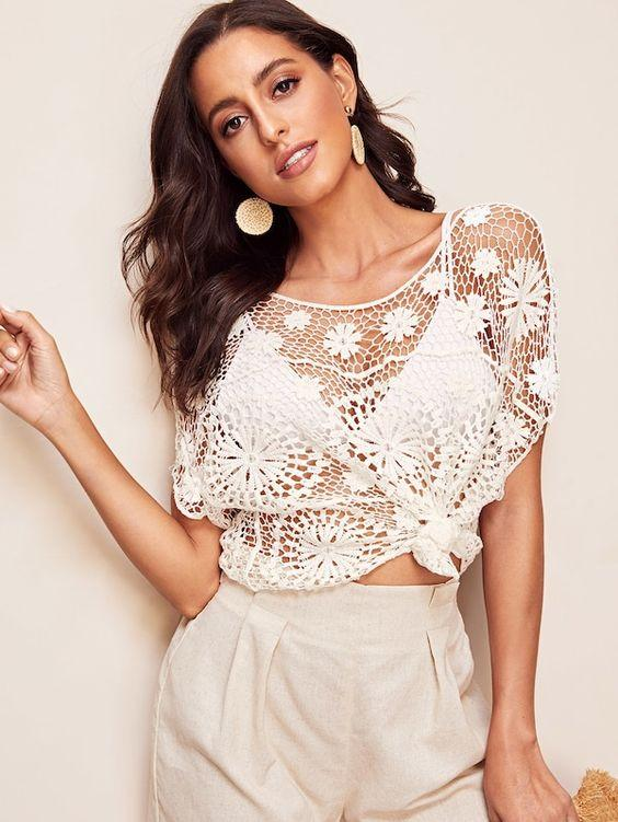 Inka Crochet Top - Boho Buys