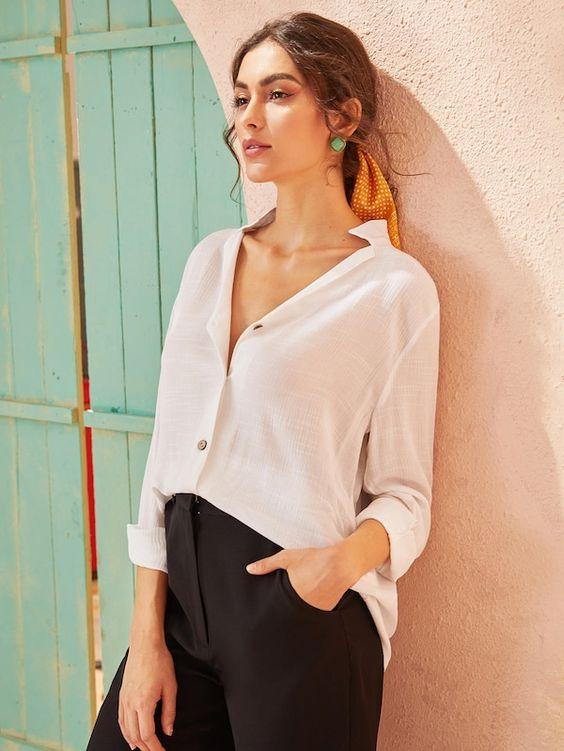 Maverick Cotton Blouse - Boho Buys