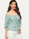 Elouise Cotton Top | SAGE - Boho Buys