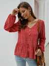 Enigma Top | RED - Boho Buys