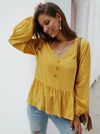 Enigma Top | YELLOW - Boho Buys