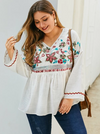 PLUS SIZE Danae Top - Boho Buys