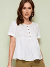 Newy Cotton Top | ONE LEFT - Boho Buys