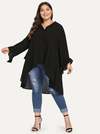 PLUS SIZE Avenue Shirt - Boho Buys