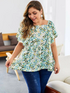 PLUS SIZE Bonita Top - Boho Buys