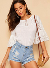 Ellis Cotton Top - Boho Buys