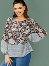 PLUS SIZE Wonderland Top - Boho Buys