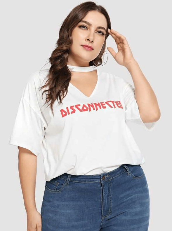 Disconnected Tee - Boho Buys