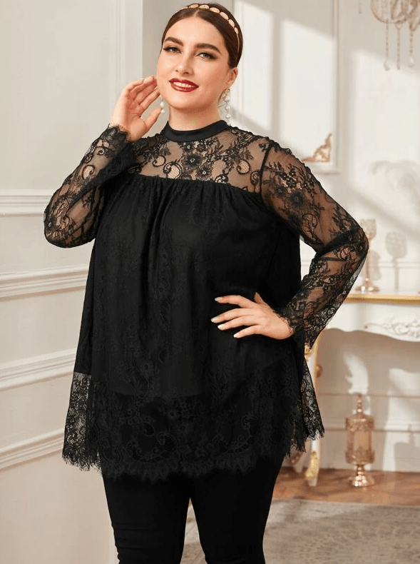 Luxe Lace Top - Boho Buys