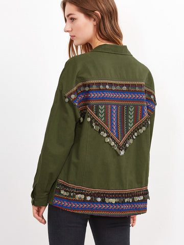 Portland Embroidered Jacket