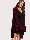 PLUS SIZE Queen Knit Cardie - Boho Buys