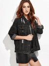 Ingrid Denim Jacket - Boho Buys
