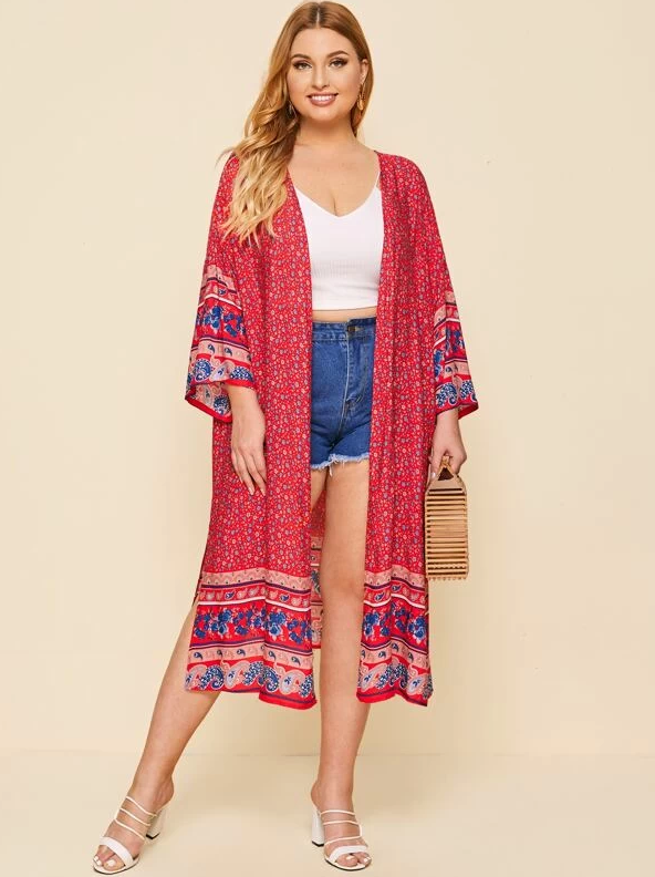 Berries & Cream Kimono | ONE LEFT - Boho Buys