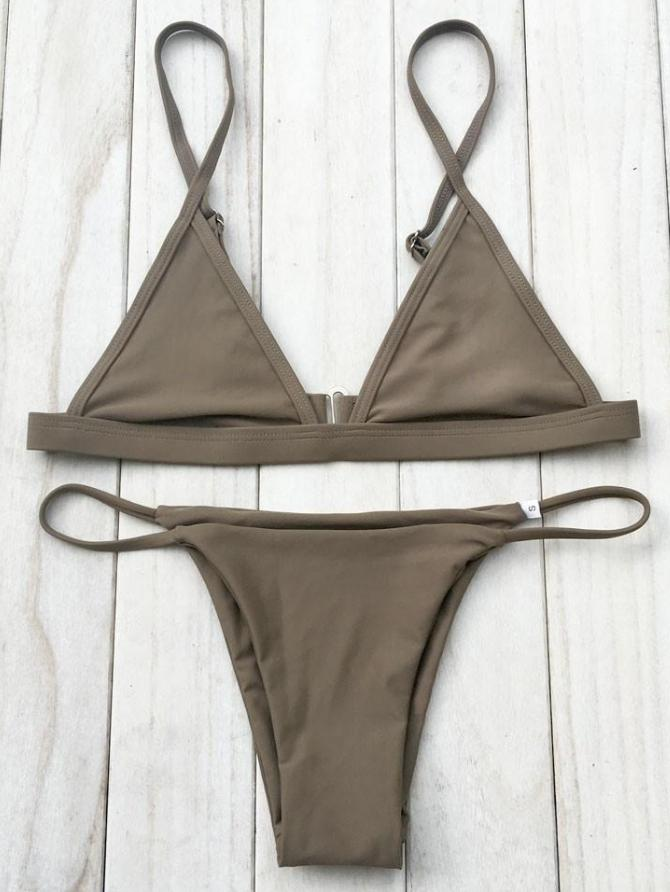 High Voltage Bikini | Khaki - Boho Buys