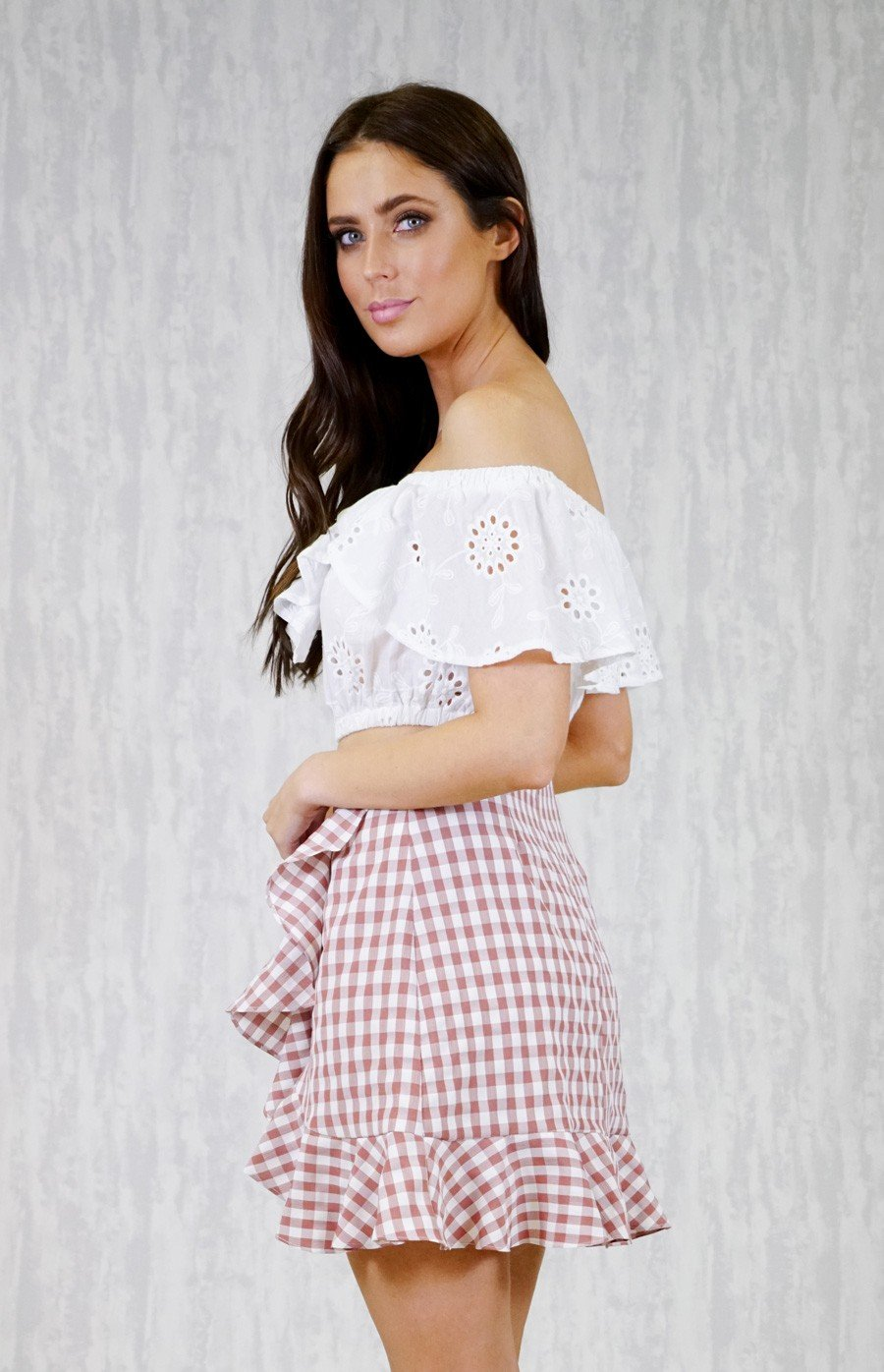 Pop Rocks Gingham Skirt - Boho Buys